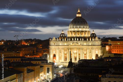 St. Peter's Basilica, Vatican Poster