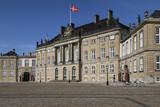 Amalienborg Palace - Copenhagen - Denmark poster