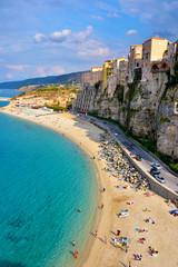beach and sea of Tropea Calabria Italy © maudanros