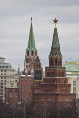 Towers of the Moscow Kremlin
