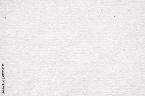 Naklejka Beige recycled horizontal note paper texture, light background.