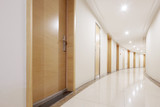 interior of modern corridor - 177863449