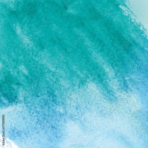 turkusowy-akwarela-tekstury-papieru