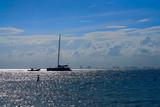 Cancun hotel zone from Isla Mujeres island - 177889440