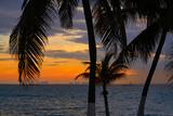 Isla Mujeres island Caribbean beach sunset - 177889607