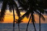 Isla Mujeres island Caribbean beach sunset - 177889610