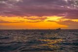 Isla Mujeres island Caribbean beach sunset - 177889676
