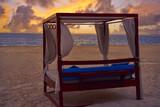 Isla Mujeres island Caribbean beach sunset - 177889678
