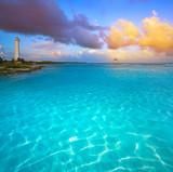 Mahahual Caribbean beach in Costa Maya - 177889876