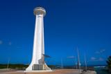 Mahahual lighthouse in Costa Maya Mexico - 177890063