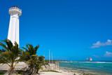Mahahual lighthouse in Costa Maya Mexico - 177890080