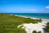 Mahahual Caribbean beach in Costa Maya - 177890421