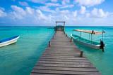 Mahahual Caribbean beach in Costa Maya - 177890612