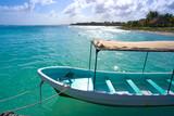 Mahahual Caribbean beach in Costa Maya - 177890666