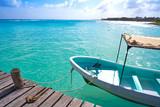 Mahahual Caribbean beach in Costa Maya - 177890696