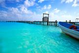 Mahahual Caribbean beach in Costa Maya - 177890800