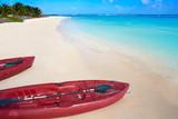 Mahahual Caribbean beach in Costa Maya - 177890862
