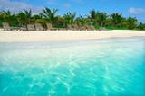 Mahahual Caribbean beach in Costa Maya - 177890891