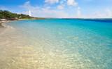 Mahahual Caribbean beach in Costa Maya - 177891202
