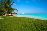 Mahahual Caribbean beach in Costa Maya - 177891242