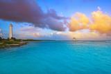 Mahahual Caribbean beach in Costa Maya - 177892242