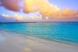 Mahahual Caribbean beach in Costa Maya - 177892245
