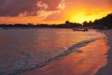 Mahahual Caribbean beach in Costa Maya - 177892447