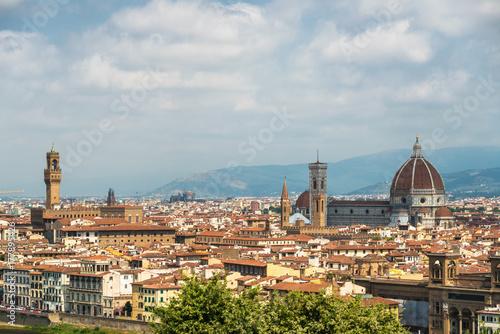 Aluminium Florence Santa Maria del Fiore cathedral, Florence cityscape