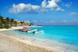 Playa del Carmen beach in Riviera Maya - 177896071