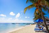 Puerto Morelos beach in Mayan Riviera - 177897670