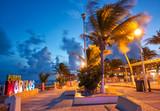 Puerto Morelos beach sunset Riviera Maya - 177899632