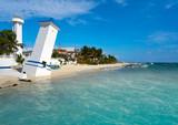 Puerto Morelos beach in Riviera Maya - 177899883
