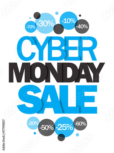 """""""CYBER MONDAY"""" banner"""