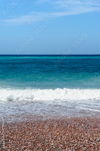 Beautiful seascape of the Adriatic Sea - 177906679