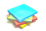 Sticky notes isolated on white background - 177937600