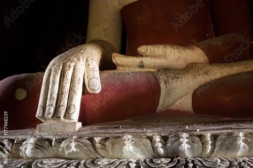Bhumisparsa Mudra, Bagan, Myanmar Poster