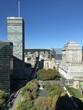 Vista di Place Dorcherster e Place du Canada, Montréal, Québec, Canada