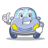 Thumbs up cute car character cartoon - 178020263