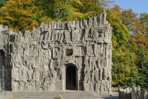 At the Hercules Monument in Kassel, Germany