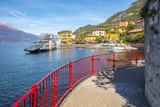 Varenna town with view of Lake Como in Lecco, Lombardy, Italy - 178065687