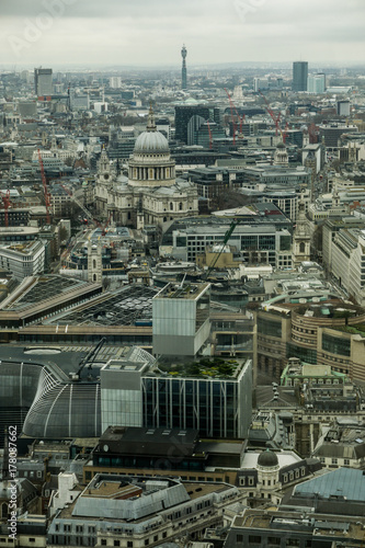 Foto op Plexiglas London Aerial view of London
