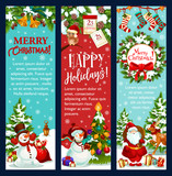 Christmas Banner For Winter Holidays Greeting Card Wall Sticker
