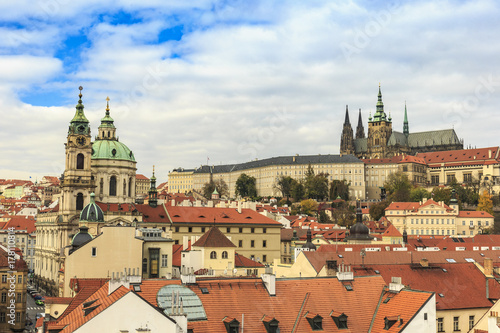 Prague, the Castle and St. Vitus Cathedral. Czech Republic Poster