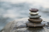 Zen stones. Peace buddhism meditation symbol - 178117813