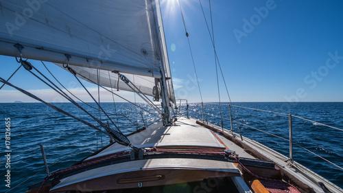 Plexiglas Zeilen San Diego Sailing
