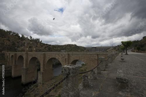 Papiers peints Gris traffic Bridge in Spain