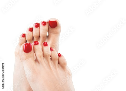 Papiers peints Pedicure Nail.