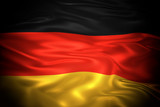 National flag of the Federal Republic of Germany 3D illustration