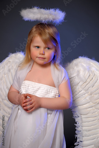 Girl angel Poster