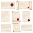 Parchment scrolls